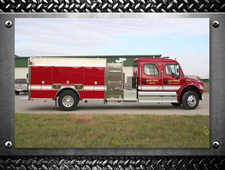 Toyne Trucks built for your Fire Department -Ainsworth