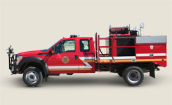 Ogallala Fire Truck refurbished